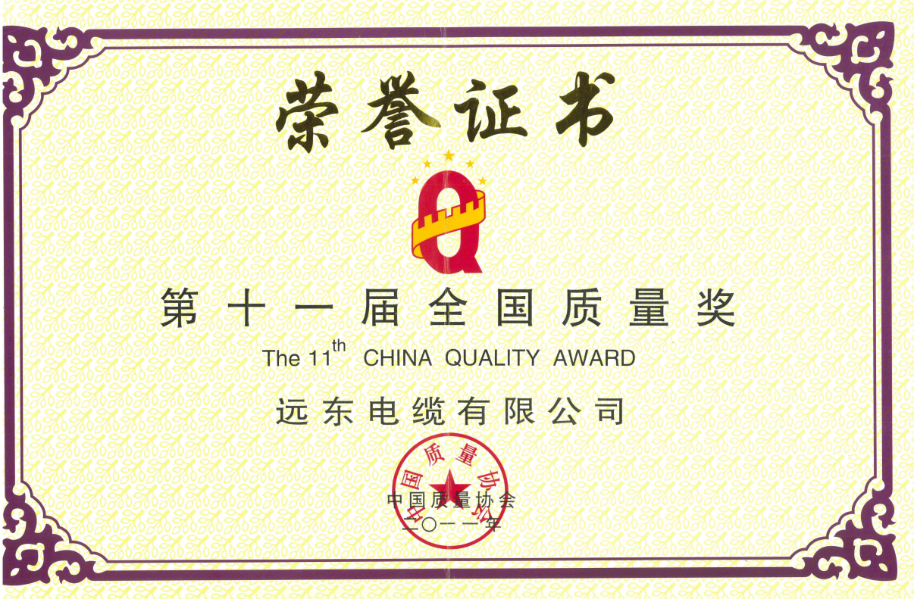 全国质量奖