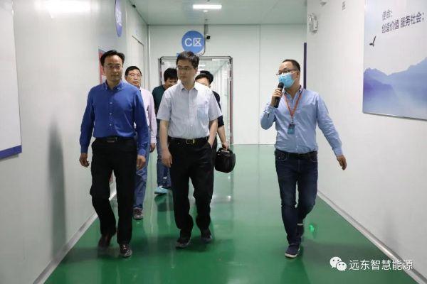 远东买卖宝_泗洪县人民政府领导一行莅临远东考察交流